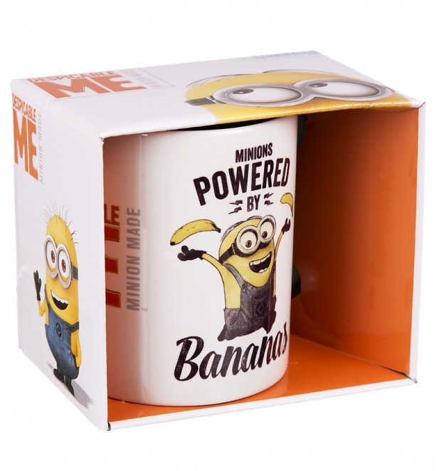 Despicable Me Minions Powered By Bananas Mug