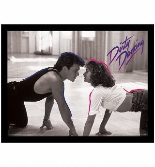 Dirty Dancing Lover Boy Framed Print 30 x 40cm