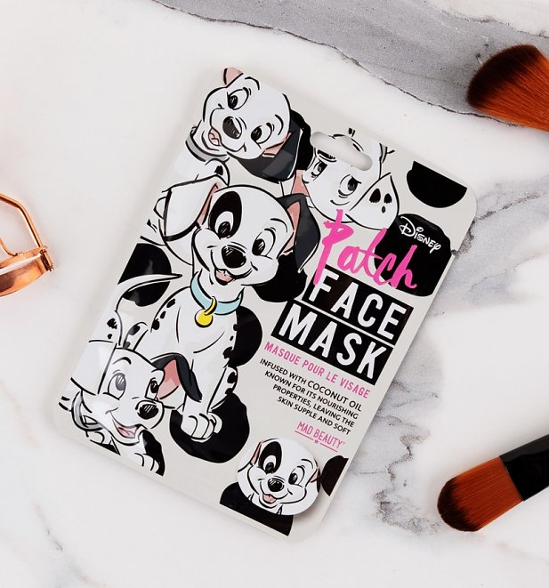 Disney 101 Dalmatians Patch Face Mask from Mad Beauty