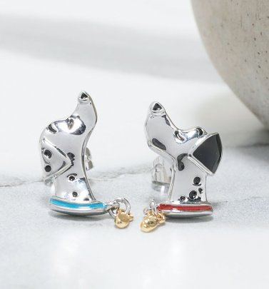 Disney 101 Dalmatians Pongo and Perdita Stud Earrings