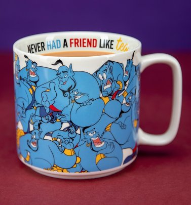 Disney Aladdin Genie Never Had A Friend Like Me Mug