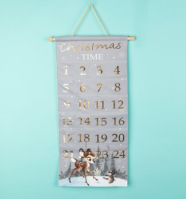 Disney Bambi Fabric Advent Calendar