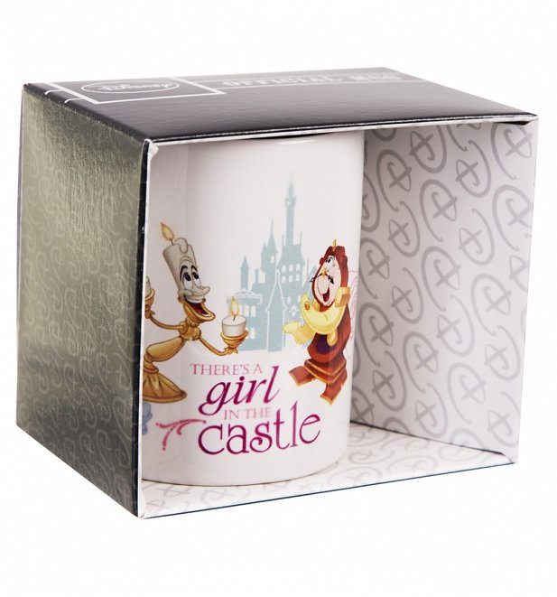 Disney Beauty And The Beast Be Our Guest Mug