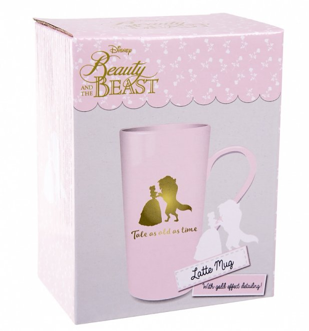 Disney Beauty And The Beast Boxed Latte Mug