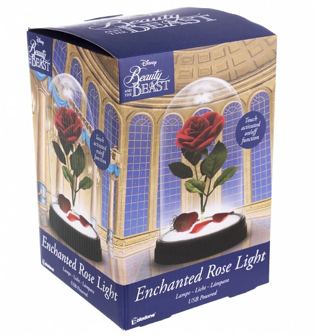 Disney Beauty & The Beast Enchanted Rose Light