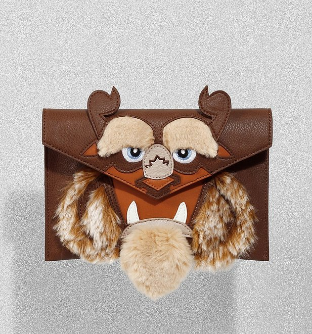 Disney Beauty And The Beast Furry Beast Clutch Bag from Danielle Nicole