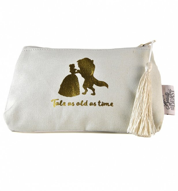 Disney Beauty And The Beast Make Up Bag