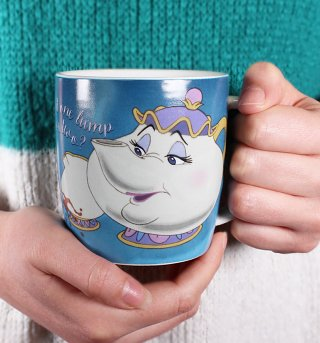 Disney Beauty And The Beast Mrs Potts Boxed Mug