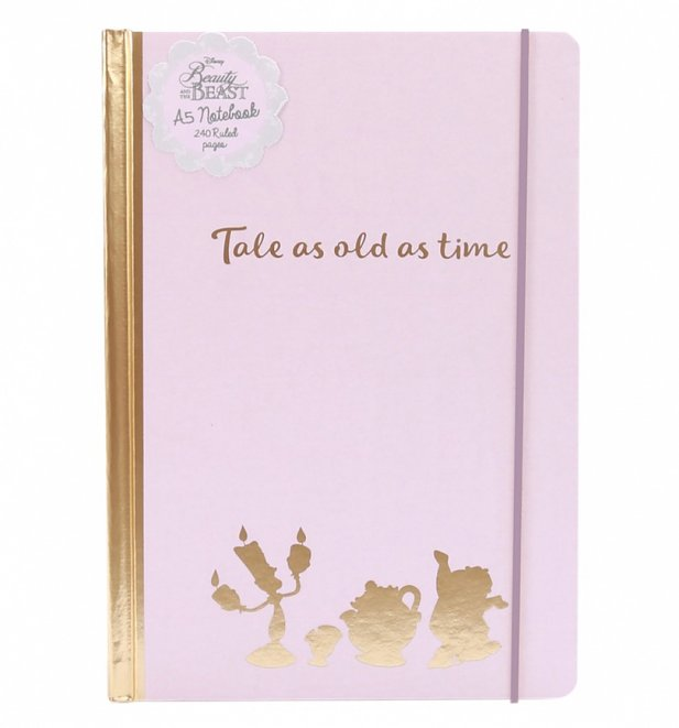 Disney Beauty And The Beast Tale As Old As Time Notebook