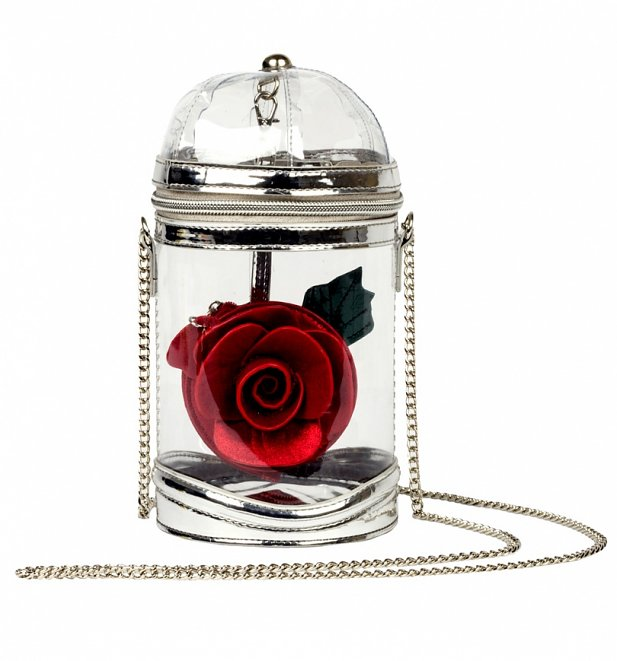 Disney Beauty & The Beast Rose Dome Cross Body Bag from Danielle Nicole