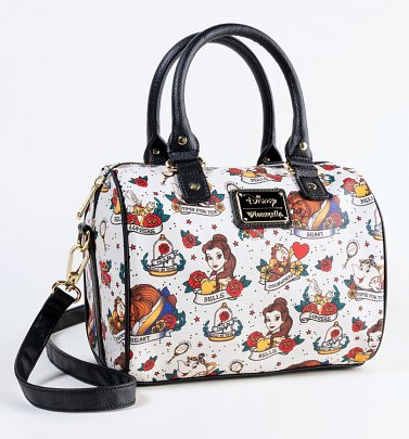 Loungefly Disney Beauty And The Beast Tattoo Bag