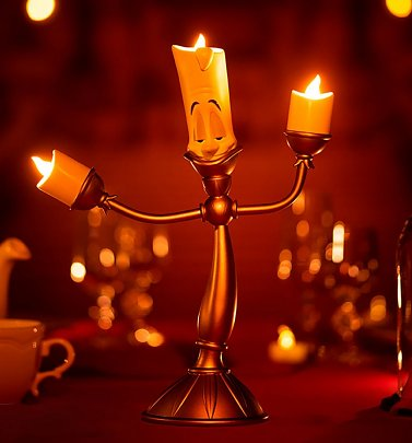 Disney Beauty and the Beast Lumiere Lamp