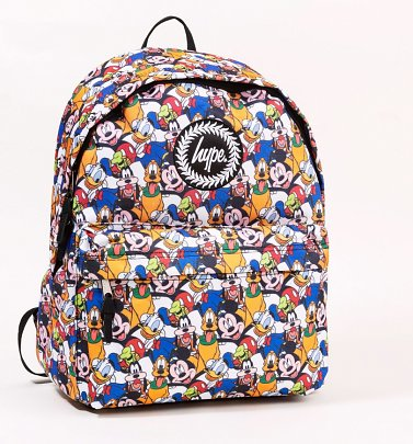 Disney Characters All Over Print Backpack from Hype