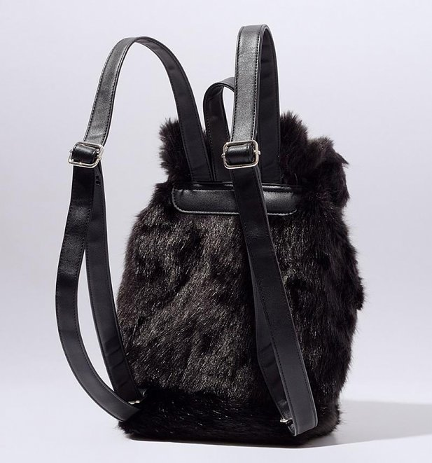 Disney Cinderella Lucifer Faux Fur Backpack from Danielle Nicole