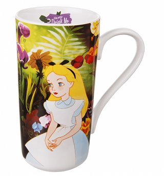 Disney Classic Alice In Wonderland Latte Mug