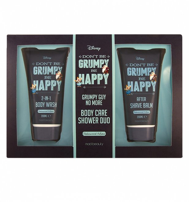 Disney Don't Be Grumpy Be Happy Shower Duo