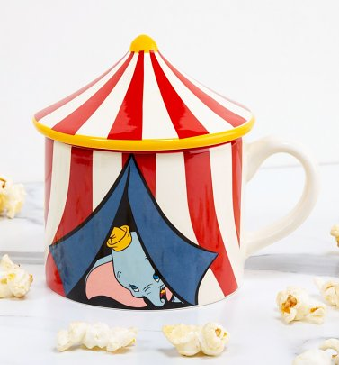 Disney Dumbo Circus Tent Mug With Lid
