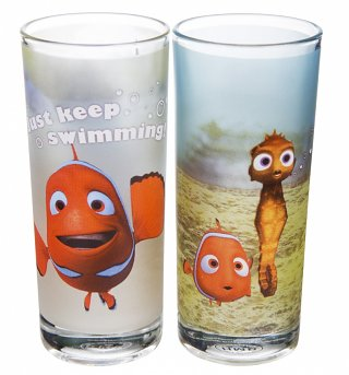 Disney Finding Nemo Set Of 2 Glasses