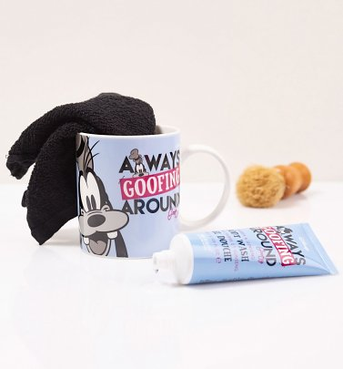 Disney Goofy Always Goofing Around Mug Gift Set from Mad Beauty