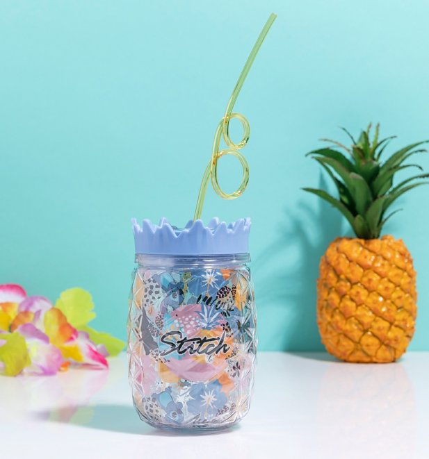 Disney Lilo and Stitch Aloha Cup with Straw from Funko