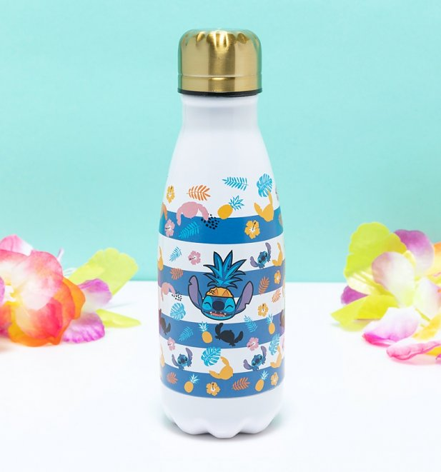 Disney Lilo and Stitch Aloha Metal Water Bottle from Funko