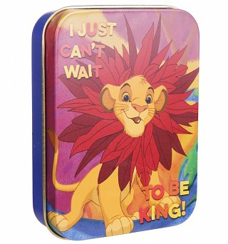 Disney Lion King Can't Wait To Be King Collectors Tin