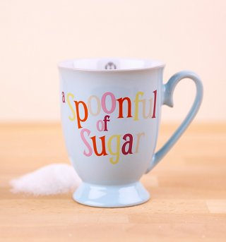 Disney Mary Poppins A Spoonful Of Sugar Porcelain Mug