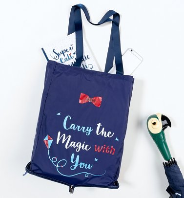 Disney Mary Poppins Carry The Magic Foldaway Shopper Bag
