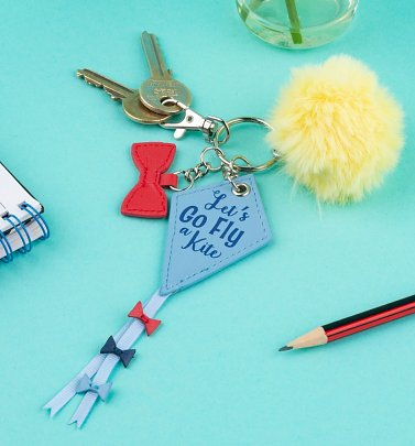 Disney Mary Poppins Let's Go Fly A Kite Keyring With Charms