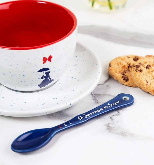 Mary Poppins Practically Perfect Cup & Saucer Set