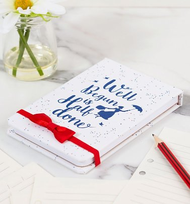 Disney Mary Poppins Well Begun To Do List Notebook