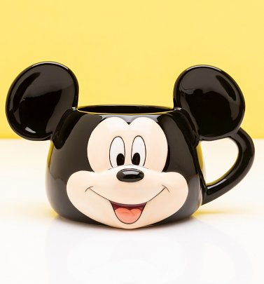 Disney Mickey Mouse Shaped Mug