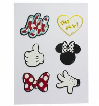 Disney Minnie Mouse Accessory Stickers