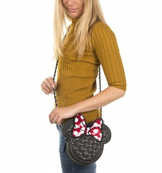 Disney Minnie Mouse Shaped Handbag from Loungefly