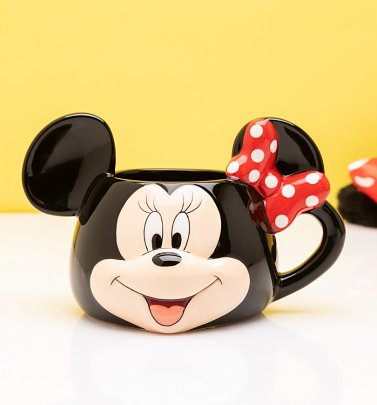 Disney Minnie Mouse Shaped Mug