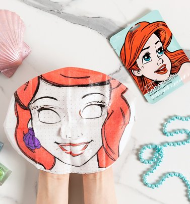 Disney Princess Ariel Sheet Face Mask from Mad Beauty