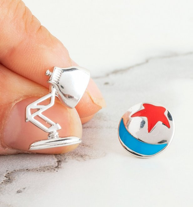 Disney Pixar Lamp and Ball Mismatched Stud Earrings