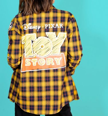 Disney Pixar Toy Story Logo Flannel Shirt from Cakeworthy