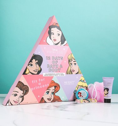 Disney Princess 12 Days Of Christmas Bath and Body Advent Calendar