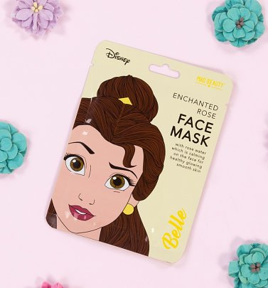 Disney Princess Beauty & The Beast Belle Sheet Face Mask from Mad Beauty