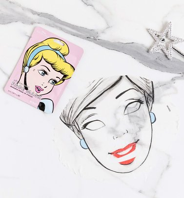Disney Princess Cinderella Sheet Face Mask from Mad Beauty