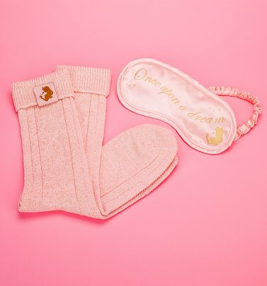 Disney Sleeping Beauty Eye Mask and Bed Socks Set