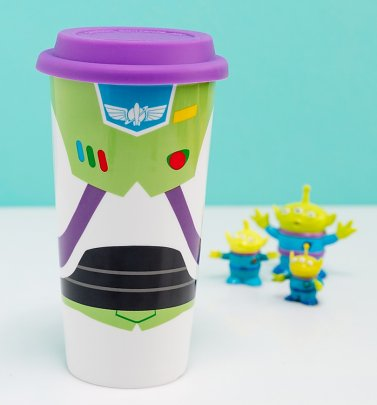 Disney Toy Story Buzz Lightyear Travel Mug With Lid from Funko