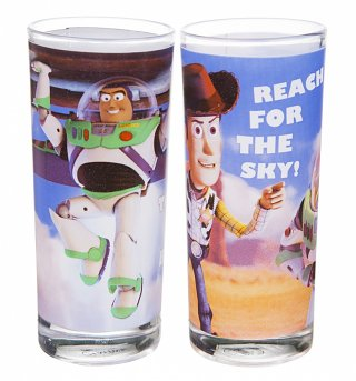 Disney Toy Story Set Of 2 Glasses