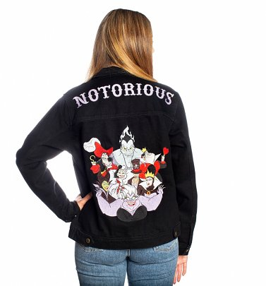 Disney Villains Denim Jacket from Cakeworthy