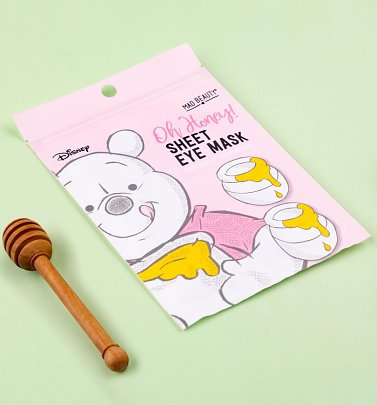 Disney Winnie The Pooh Honey & Coconut Sheet Eye Mask