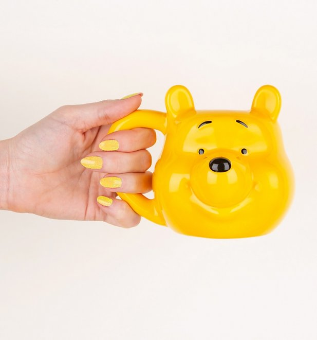 Disney Winnie The Pooh Silly Old Bear 3D Shaped Mug