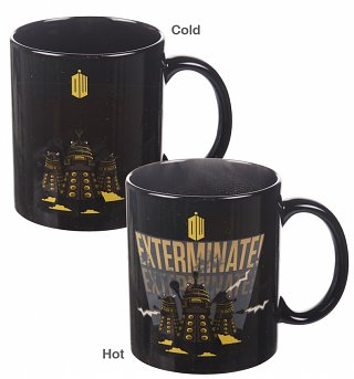 Doctor Who Dalek Heat Change Mug