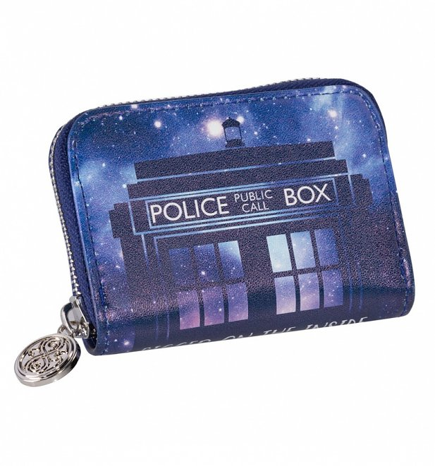 Doctor Who Galaxy Coin Purse