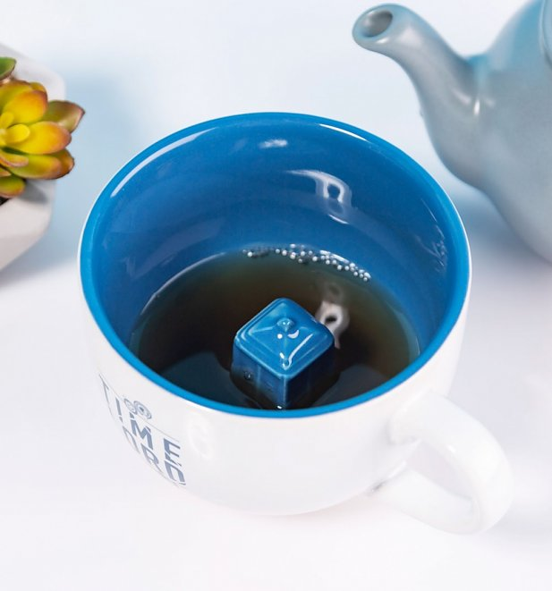 Doctor Who Hidden Tardis Coffee Mug